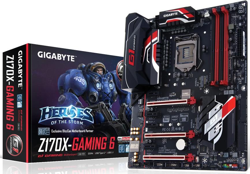 Gigabyte Z170X-Gaming 6
