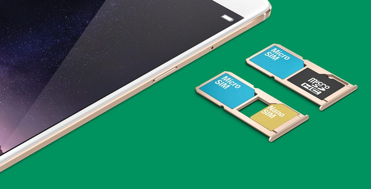 Dual-SIM mit MicroSD-Option