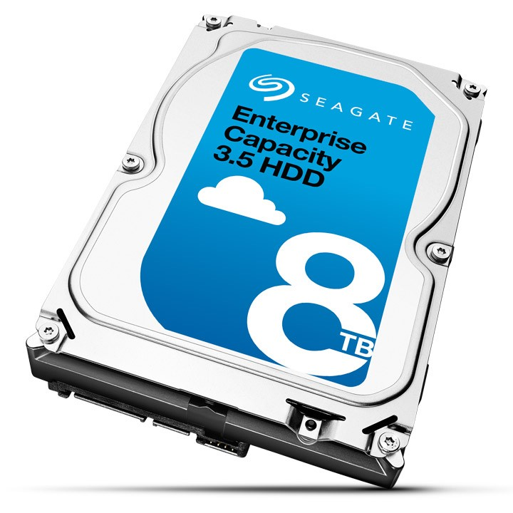 Seagate Enterprise Capacity 3,5 HDD mit 8 TByte