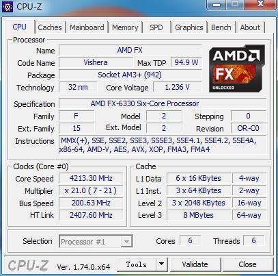 Infos von GPU-Z