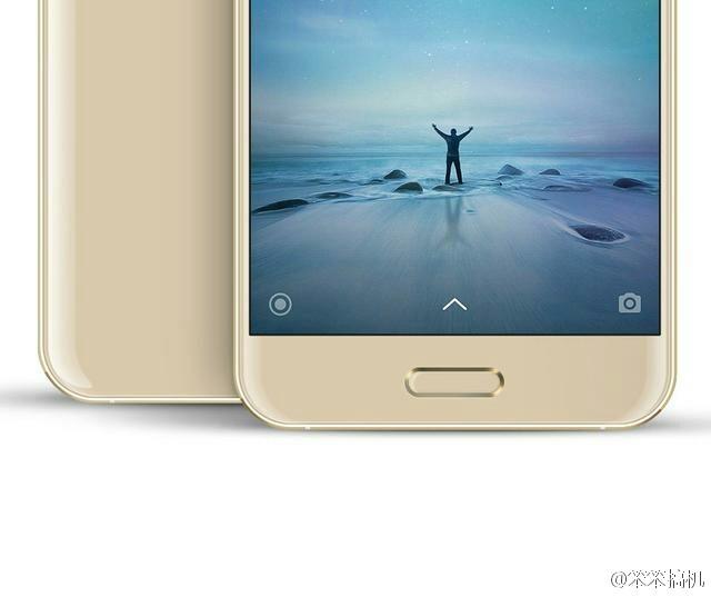 Xiaomi Mi5 Gold: Home-Button & Fingerabdrucksensor