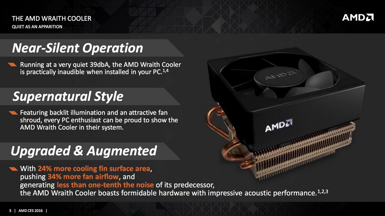 AMD Wraith Infos