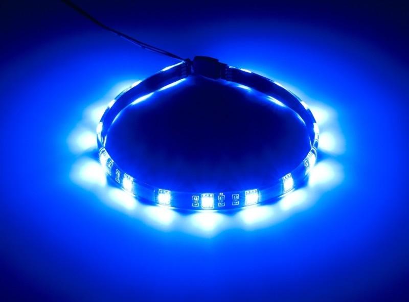 CableMod WideBeam Foam LED Strip – 30cm – BLUE