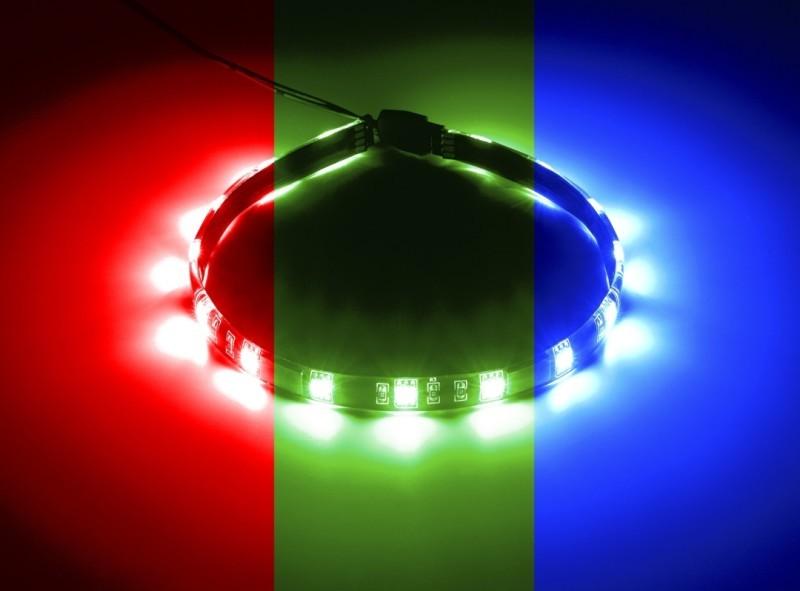 CableMod WideBeam Foam RGB LED Strip – 30cm