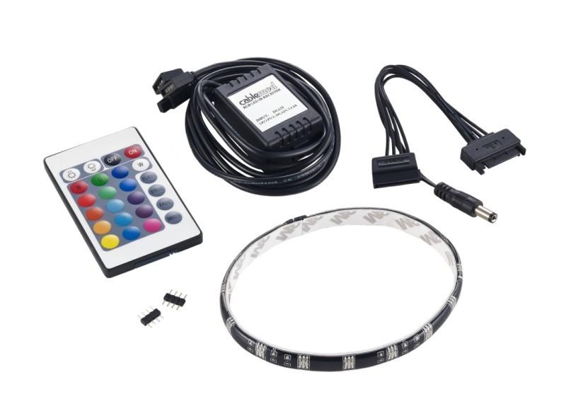 CableMod WideBeam Foam RGB LED Kit – 30cm