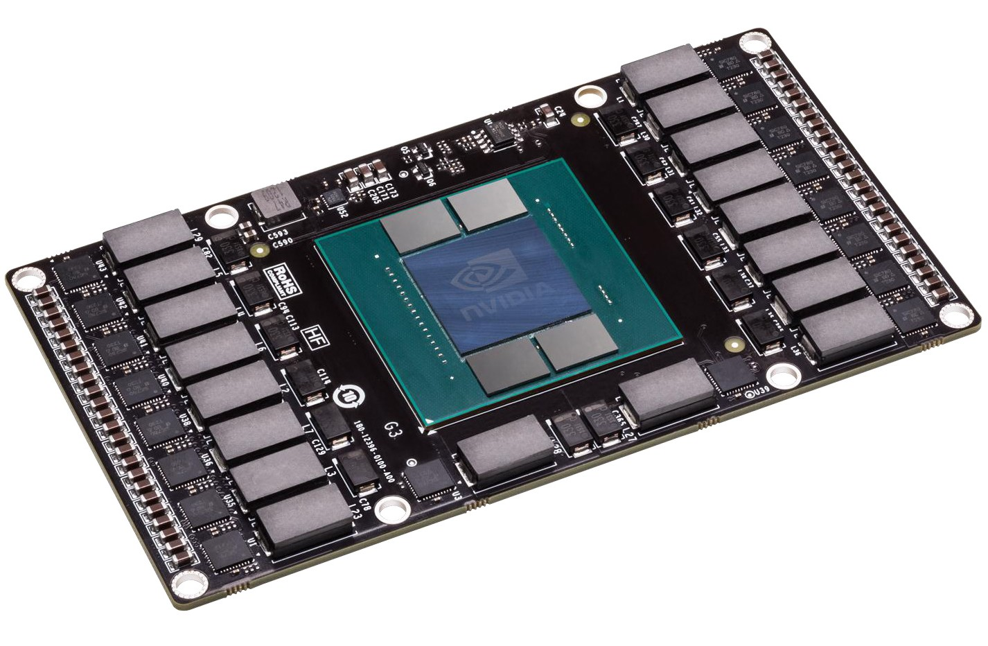 Nvidia Pascal Testmodul mit HBM2