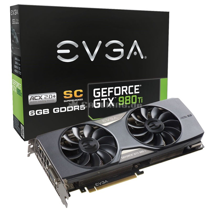 EVGA GeForce GTX 980 Ti Superclocked ACX 2.0+