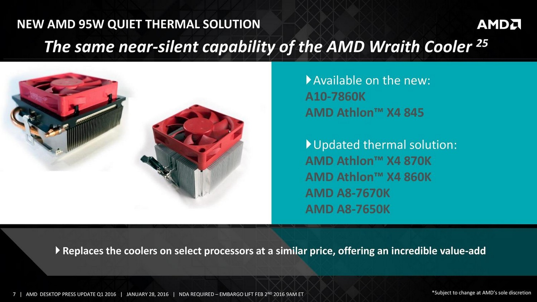 Neue AMD-Kühler