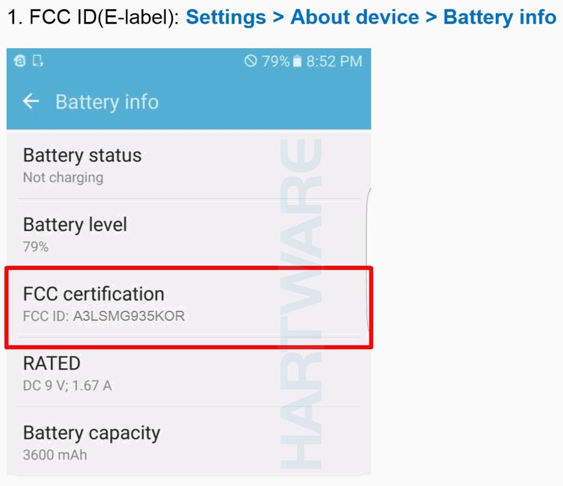 FCC Lizensierung des Samsung Galaxy S7 Edge