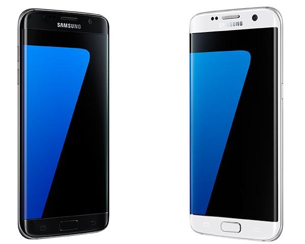Galaxy S7 edge Schwarz & Weiß