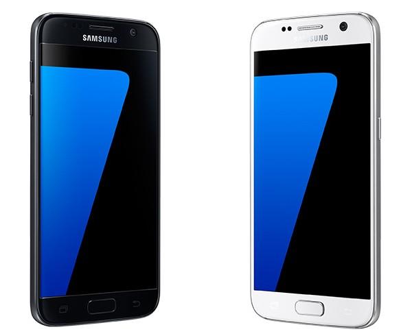 Galaxy S7 Schwarz & Weiß