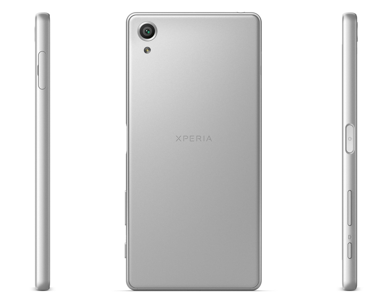 Sony Xperia X Rückseite & Seiten
