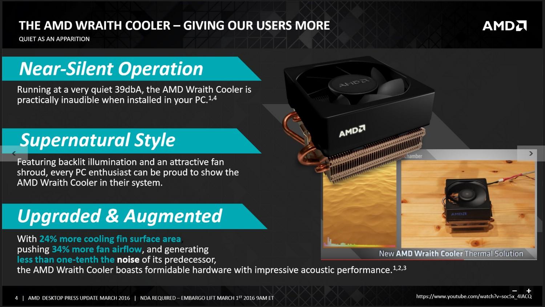 AMD Wraith Kühler