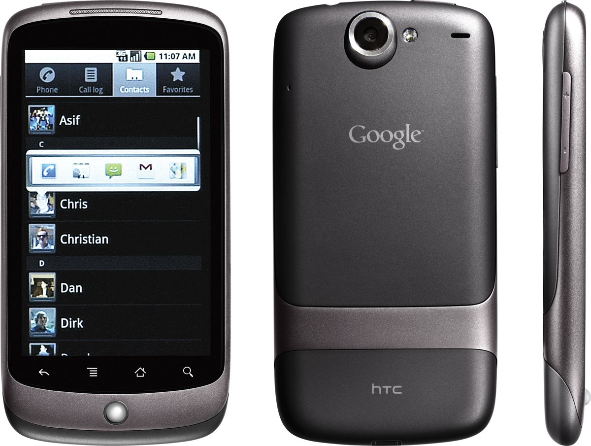 Google Nexus One von HTC (2010)
