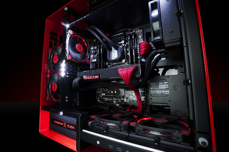 Radeon Pro Duo im Testsystem