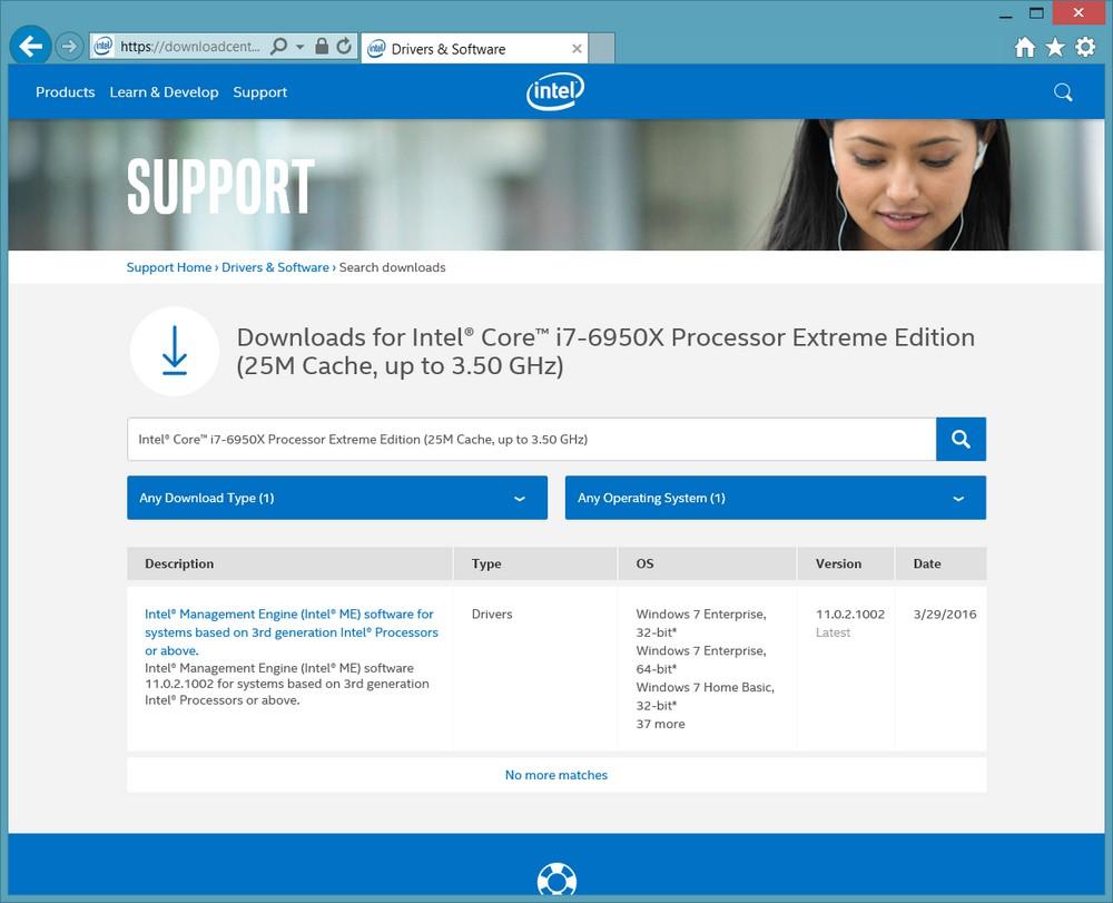 Intel Website