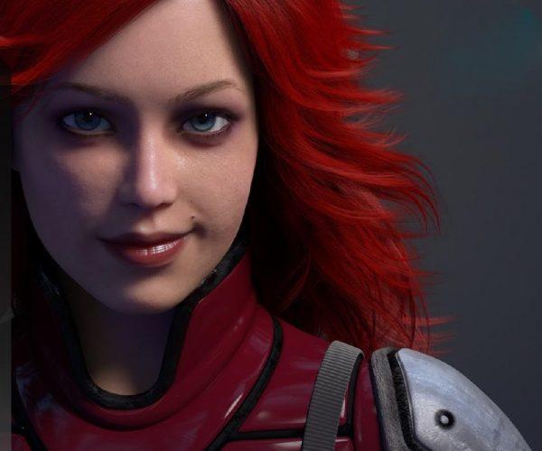 AMD Graphics Girl