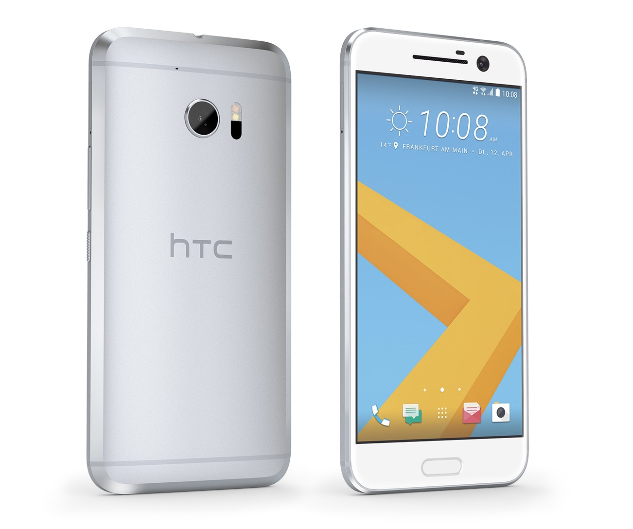 HTC 10 in Glacier Silver
