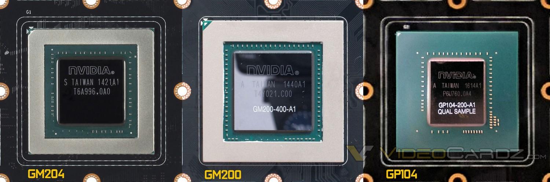 Größenvergleich mit Maxwell GPUs