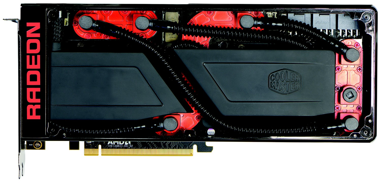 Radeon Pro Duo (Kühler geöffnet)
