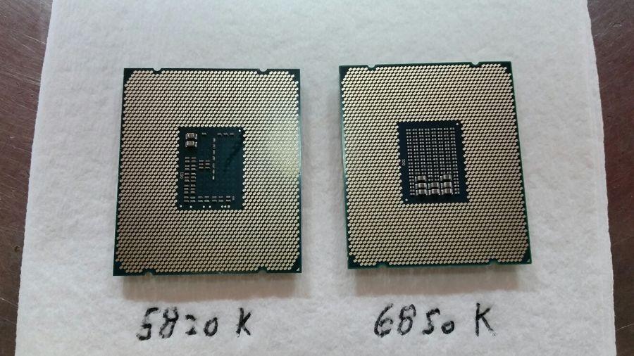 Core i7-5820K und -6850K