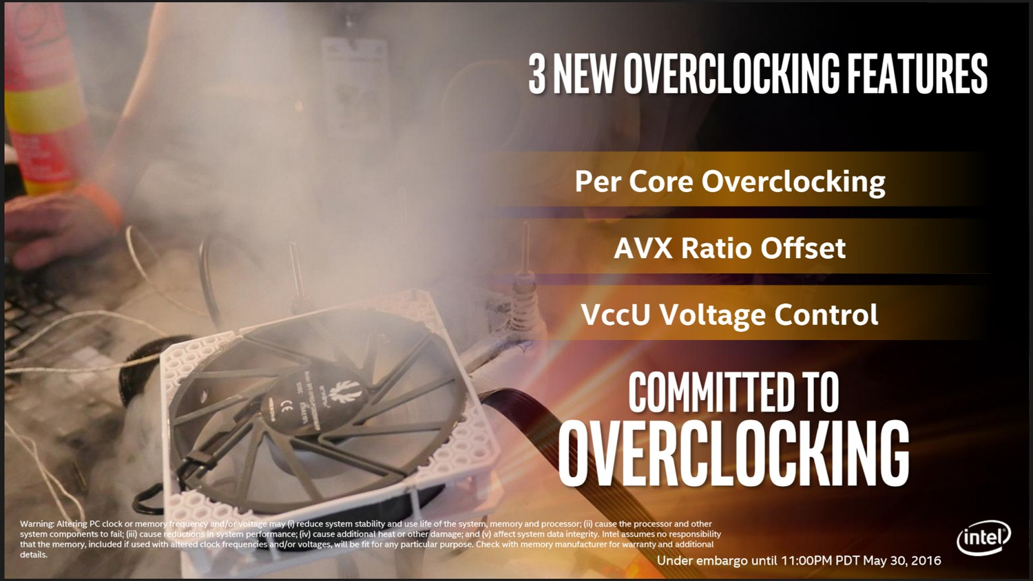 3 neue Overclocking-Features