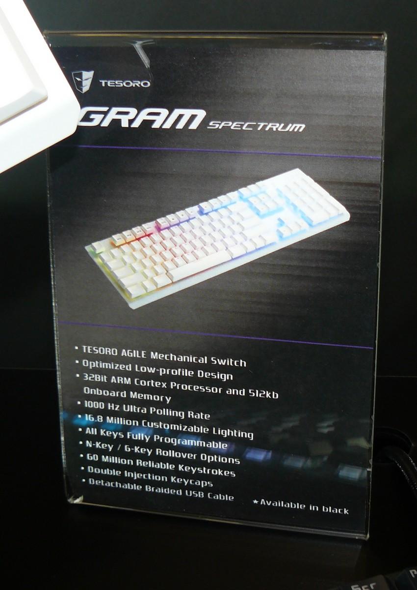 GRAM Spectrum Infos