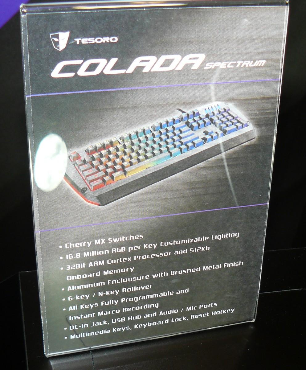 Colada Spectrum Infos