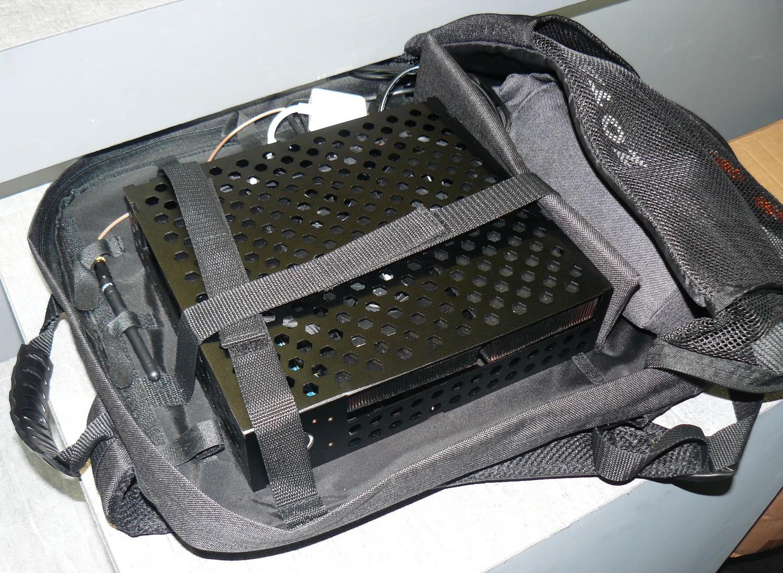 Mini-PC im VR-Rucksack