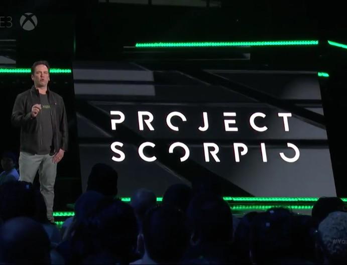 Phil Spencer (Microsoft) erklärt Project Scorpio auf der E3
