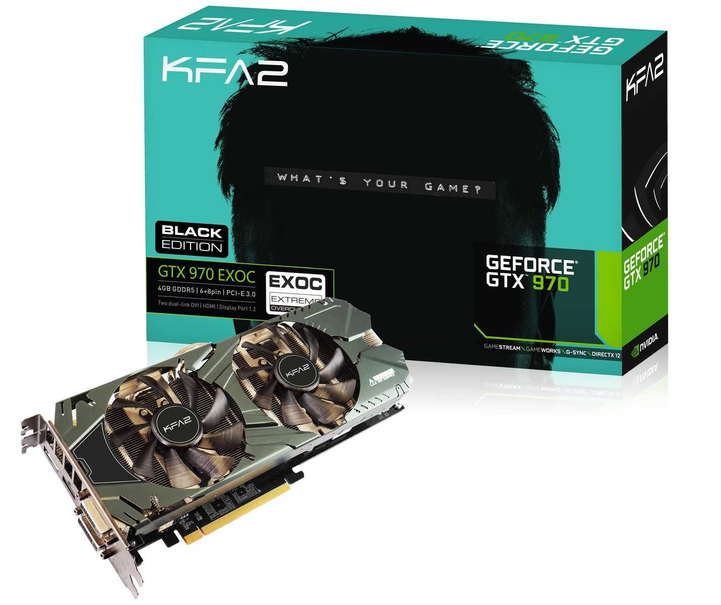 KFA2 GeForce GTX 970 Black EXOC Sniper Edition