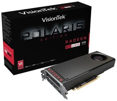 VisionTek Radeon RX 480
