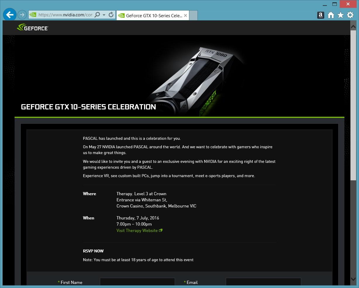 Nvidia-Einladung