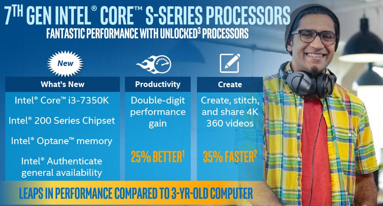 Intel Core S-Serie für Desktop-PCs