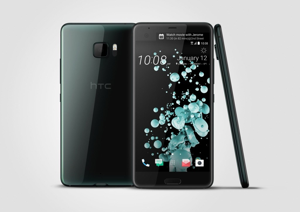 HTC U Ultra (Schwarz)