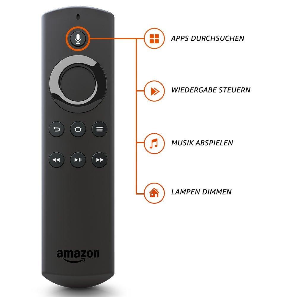 neuer amazon fire tv stick mit alexa hartware. Black Bedroom Furniture Sets. Home Design Ideas