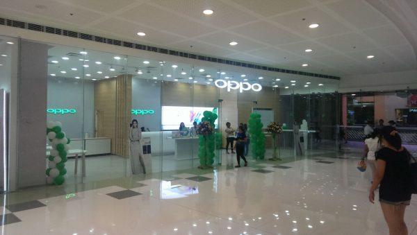 Oppo-Shop in Manila (eigenes Bild)
