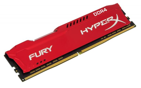 HyperX Fury DDR4 Red