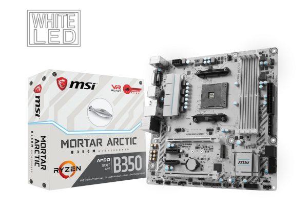 MSI B350M Mortar Arctic