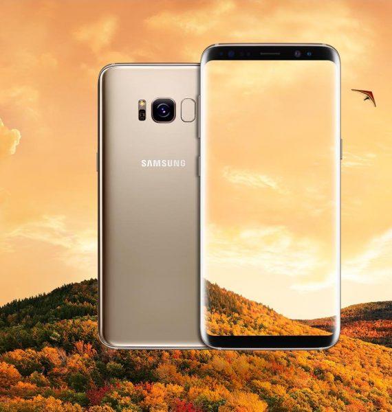 Samsung Galaxy S8 Gold