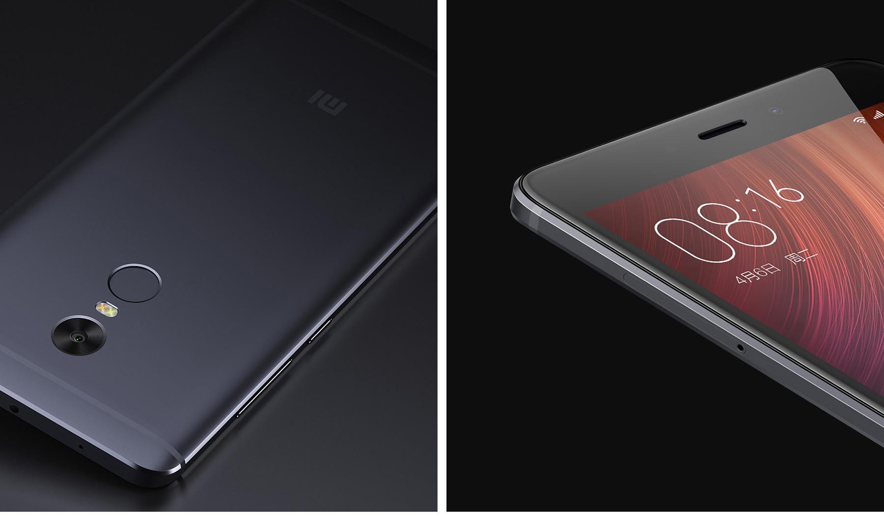 Xiaomi redmi note 4 und mi5 als internationale versionen for Housse xiaomi redmi note 4