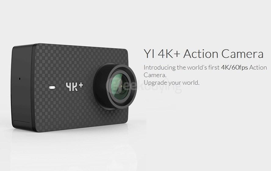 weltweit erste action cam f r 4k video mit 60 fps hartware. Black Bedroom Furniture Sets. Home Design Ideas
