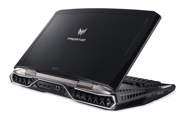 Acer Predator 21X Rückseite