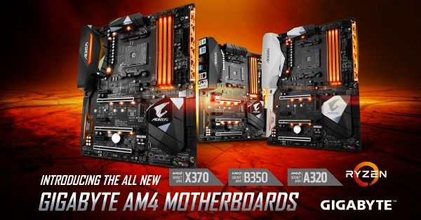 Gigabyte AM4 Mainboards