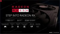 Radeon RX 550 overview