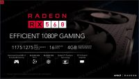 Radeon RX 560 overview
