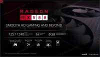 Radeon RX 580 overview
