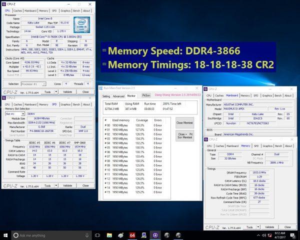 TridentZ RGB 32GB 3866MHz CL18