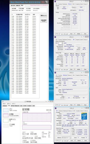 TridentZ RGB 64GB 3466MHz CL16