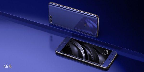 Xiaomi Mi6 back